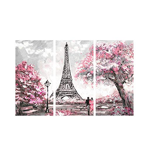 ZsBig6 Torre Eiffel Arte Pared Lienzo Pintura Paisaje