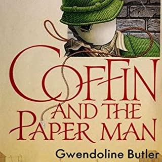 Coffin and the Paper Man audiobook cover art