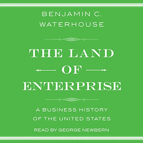The Land of Enterprise audiobook cover art