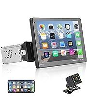 Autoradio a din singolo con D-Play, autoradio con touch screen da 9 pollici, lettore MP5 con Bluetooth / FM / USB / AUX, collegamento allo specchio del telefono + fotocamera di backup