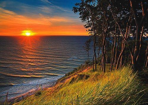 1000 Piece Puzzle the Baltic Sea At Sundown by Trefl