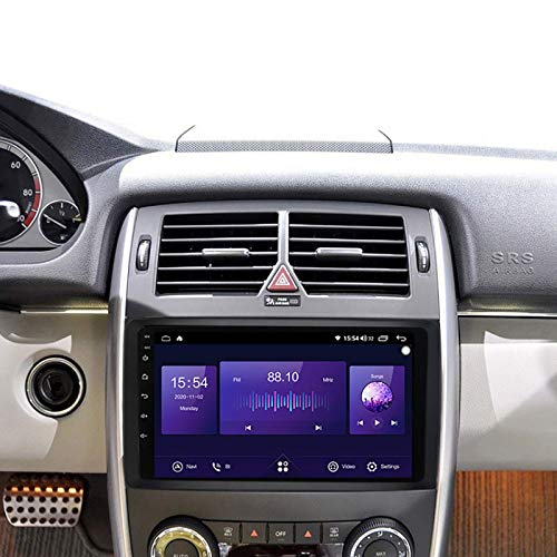 Coche estéreo GPS GPS Touch HD Carplay Radio Multimedia System Tracker, 4Core 4G+WIFI: 2+32G