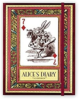 [7321 Design] Alice in Wonderland Vol. 01 Diary Planner by 7321 Design