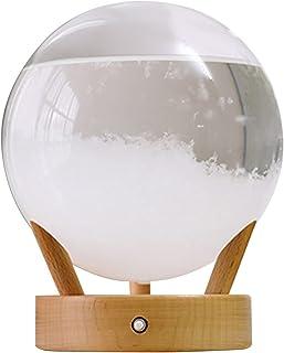 YANGYANG Allenzhang 12 cm Clear Verre Crystal Ball Verre Station météorologique Éclairage Météo Précédoi à la Maison Décor...