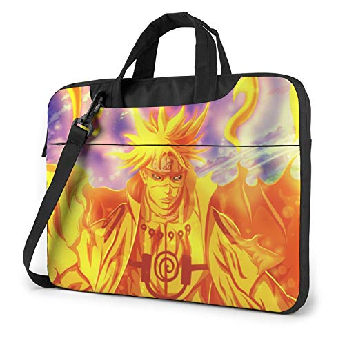 Naruto Uzumaki Compatible with 13 Inch Convertible Shockproof Laptop Crossbody Messenger Bag Casual Bags with Adjustable Strap,Laptop Carrying Case for MacBook Chromebook