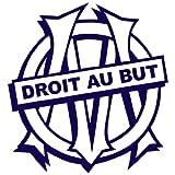 Sticker OM Marseille Bleu marine 47x50 cm