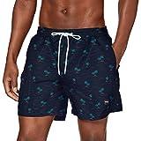 Urban Classics PatternSwim Shorts Bañador para hombre, Island Aop, XXXXXXL