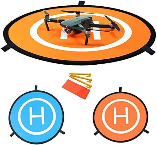 YUNIQUE ESPANA- Pista de Aterrizaje Portátil Universal para Aviones no Tripulados RC Helicóptero dji Mavic, Pro Phantom 2/3/4/4, Inspire 2/1, 3DR Solo, GoPro Karma (9Z-3ZUE-AV67)
