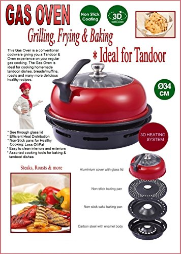 Tandoor Oven Barbeque for Gas Hob (Indoor BBQ) 3