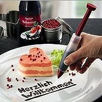 meiyiuシリコンプレートペンケーキクッキー菓子クリームチョコレートアイシングデコレーションシリンジ