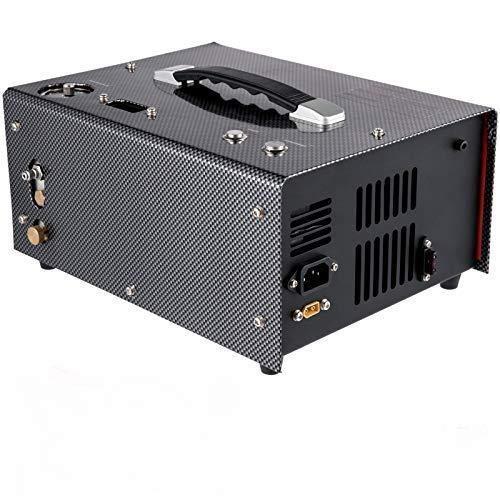 VEVOR Elektrischer PCP Kompressor 300 W, Hochdruck Luftkompressor 220 V, Tauchflaschen Kompressor Automatisches Herunterfahren, PCP-Luftpumpe mit Schnellkupplung, Transformator, Reparatursatz, Lüfter