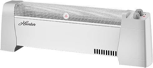 XN Calentador Convector De Zócalo Eléctrico, Termostato, con Protección contra Sobrecalentamiento, Descarga Automática De Energía, 1500W, Blanco