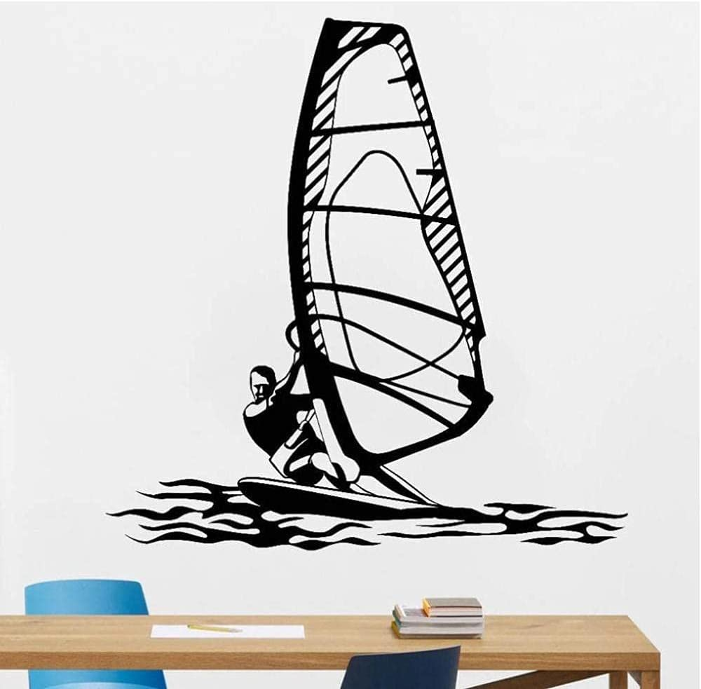 LORBAY Superb Windsurfing Water Super sale period limited Sports Gymnasium Art Mesa Mall Decal Wall
