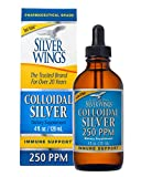 Natural Path Silver Wings Dietary Mineral Supplement, Colloidal Silver, 250 PPM, 4 oz (113.4 g)