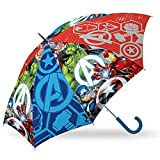 SKYLINE Paraguas para Niños, Avengers, Estilo Tradicional, Paraguas Infantil, Poliéster, 85cm diámetro, Vuelta al Cole, Ideal para Niños