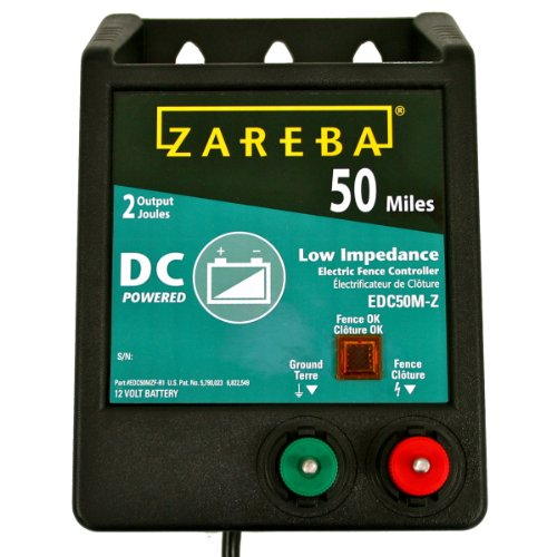 Zareba EDC50M-Z 50-Mile Battery Operated...