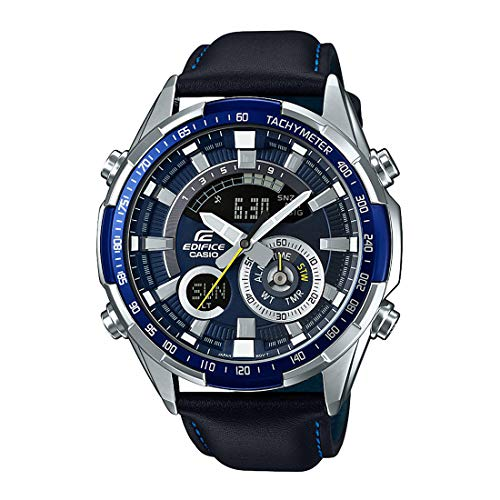 Casio Edifice Analog-Digital Blue Dial Men's Watch - ERA-600L-2AVUDF (EX355)