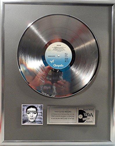 Debbie Harry Kookoo platin Schallplatte (goldene gold record)