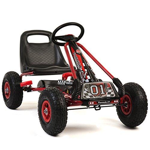 a15-k Go Kart a Pedal Ruedas de plástico