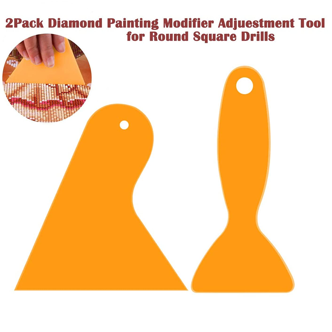 2Pack 5D Diamond Painting Fix Tools, Ideal Aligning Repair Accessories Tools to Adjust Diamonds for Diamond Painting Kits for Adults