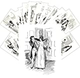 """24-Pack of Large Postcards, size of each card 5""""x6.5"""" (12x16cm) 24 different cards with reprints of Vintage Posters, Illustrations and Ads. Postcards printed on thin glossy cardboard and suitable to use as normal postcard or send in envelope. We have..."""