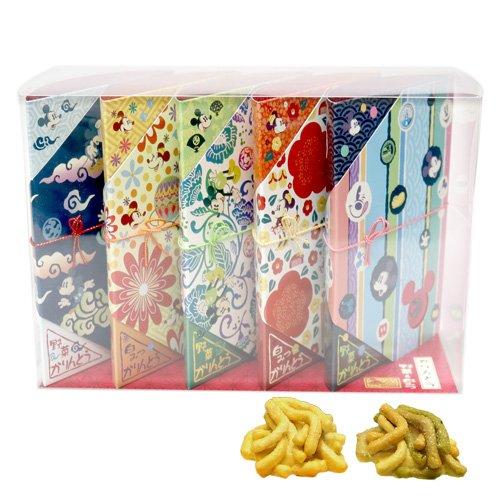 ミッキーマウス ミニーマウス かりんとう お菓子 野菜かりんとう 白みつかりんとう お土産 【東京ディズニーリゾート限定】