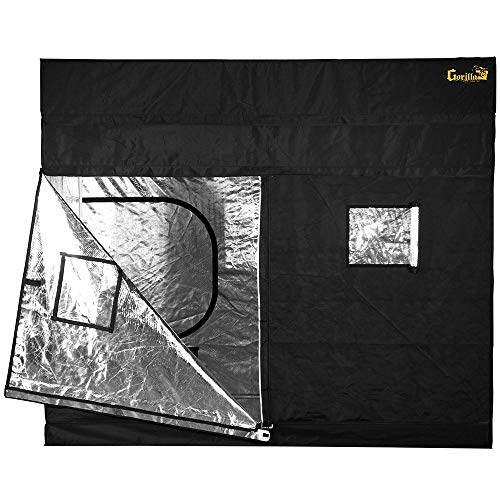 Gorilla Grow Tent GGT59, 5' x 9' Grow Tent, 5 by 9 by 6-Feet/11-Inch, Black