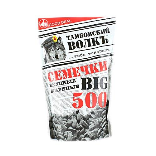 Sonnenblumenkerne Tambovsky Volk geröstet 500g (3 x 500g) sunflower seeds