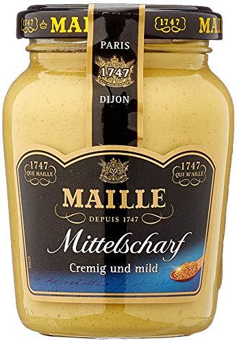 Maille Dijon-Senf Mittelscharf, 6er Pack (6 x 205 g)