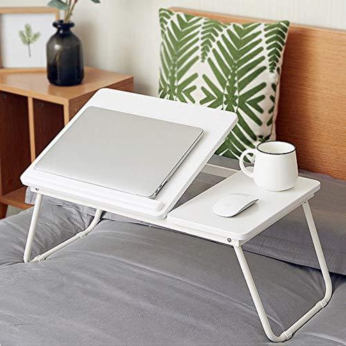 El escritorio plegable del ordenador portátil portátil Permanente cama Escritorio Paquete Office Piernas bandeja plegable Lap Desk de la tableta del teléfono de escritorio Sofá cama mesa de comedor