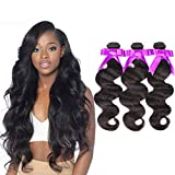 Best Grade Of Human Hair Weaves - 3 Bundles Deal Brazilian Human Hair Body Wave Review