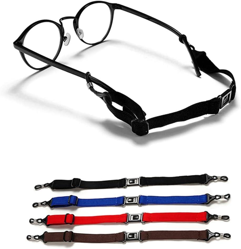 Adjustable Eyeglasses Band, Sports Men's Eyeglasses Retainer, Eyeglasses Lanyard (Package)