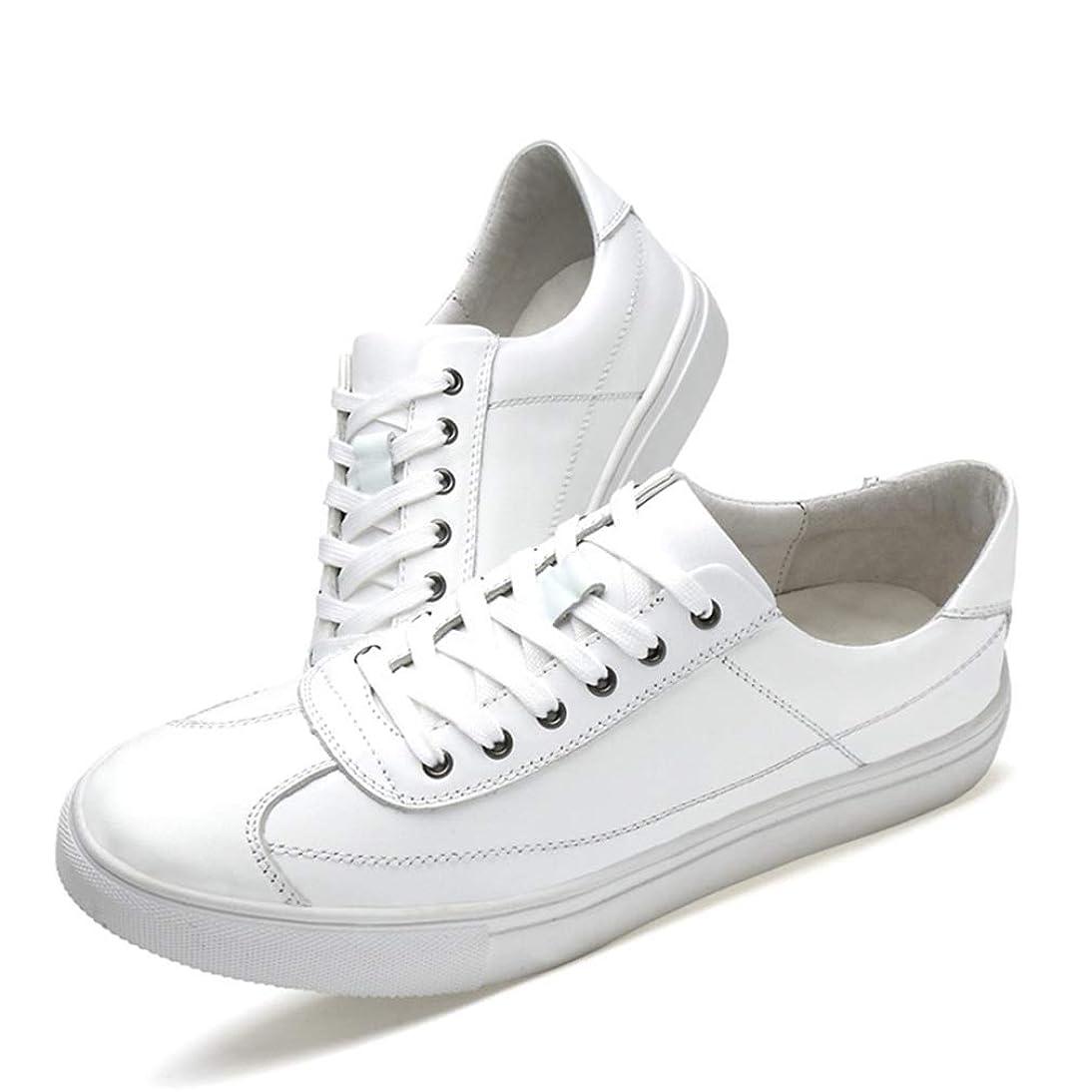 リマークパールそのような[OceanMap] 本革 スニーカー メンズ レディース おしゃれ 白の靴 トレンド レースアップ ローカット 厚底 スニーカー デッキシューズ 軽量 歩きやすい 大きいサイズ 小さいサイズ レースアップシューズ 通勤 通学 日常 旅行 アウトドア