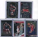 James Harden Houston Rockets Assorted Basketball Cards 5 Card Lot