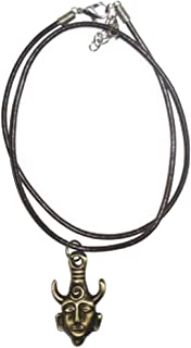 Supernatural Dean Winchester Mask Amulet Pendant Necklace