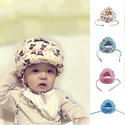 Whiie891203 Unisex-Fahrradhelm für Erwachsene, für Neugeborene, Baby, Jungen, Mädchen, Hut mit Apfelkopf, Schutzhelm für Walksport, Hund 43 cm – 53 cm, 43cm - 53cm