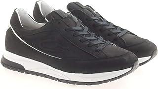 GUARDIANI Sneackers Uomo AGM006704 in Camoscio Nero Modello Casual. Una Calzatura Comoda Adatta per Tutte Le Occasioni. Pr...