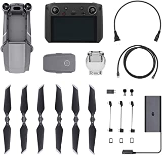 DJI Mavic 2 Pro with DJI Smart Controller Combo Bundle, Quadcopter Drone with Hasselblad Camera, Gray