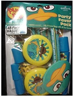 Phineas & Ferb Party Favor Pack : 48 Piece Value! by Hallmark Party