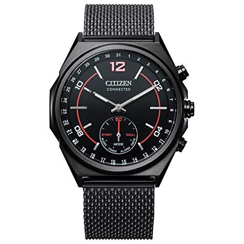 Citizen Reloj Analógico-Digital para De los Hombres de Eco-Drive con Correa en Acero Inoxidable CX0005-78E
