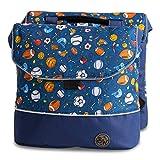 BambinIWelt Gepäcktasche, Gepäckträgertasche für Fahrrad, Fahrradtasche für Kinder, wasserabweisend, z.B. für alle Puky Räder (Modell 01)