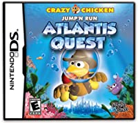 Crazy Chicken - Atlantis Quest (輸入版) - DS
