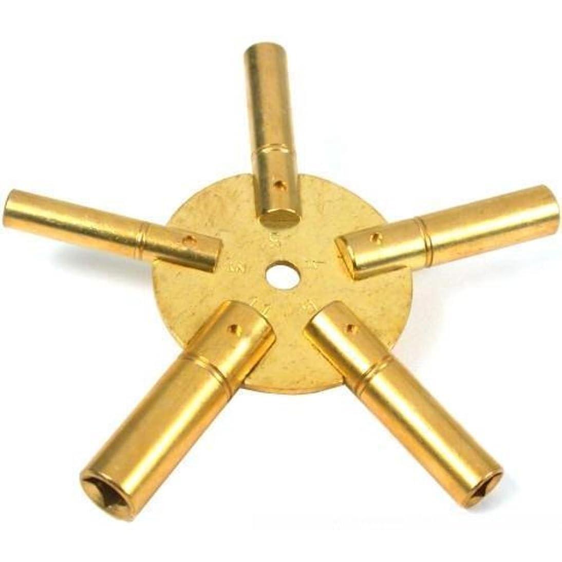 Mainspring Winder Clock Key Tool 5 Sizes Jewelers