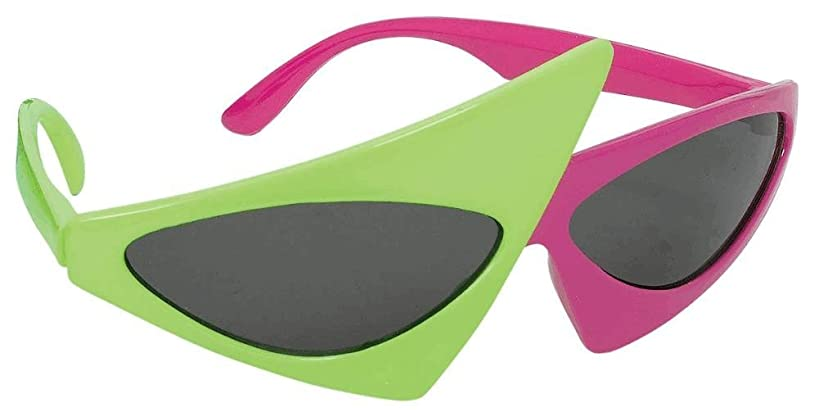 amscan Asymmetric Glasses Costume Accessory