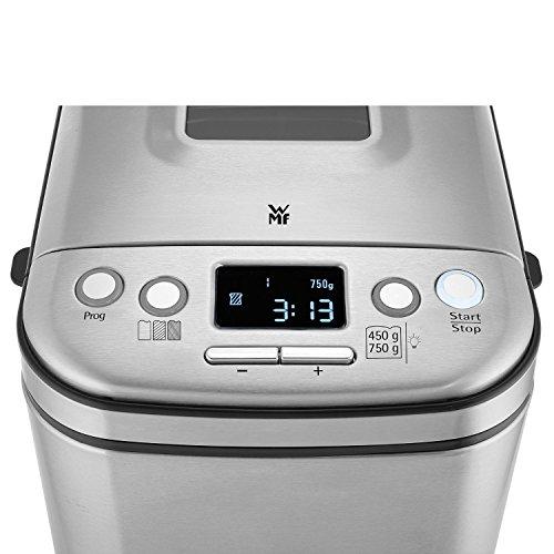 WMF Kult X Brotbackautomat mit 12 Programmen, 2 Brotgewichte und 3 Bräunungsgrade, Timer für frisches Brot am Morgen