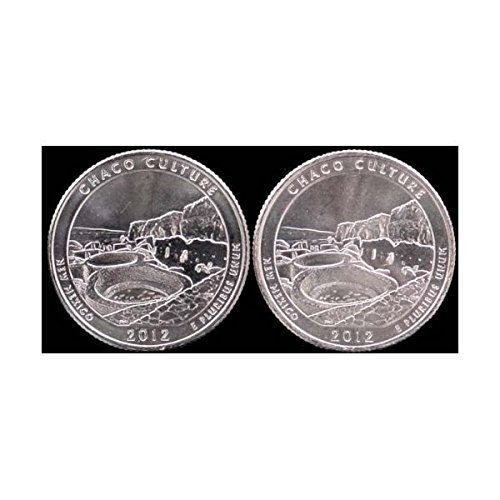 2012 P & D New Mexico Chaco Culture Quarters BU (2 Coins)