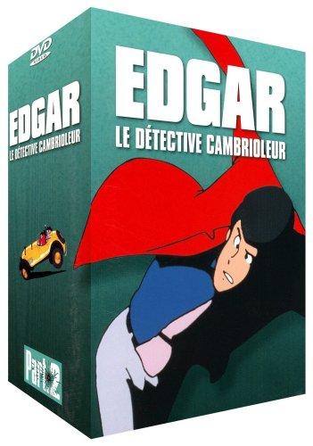 Edgar, Détective Cambrioleur - Coffret 5 DVD - Saison 2 - Partie 2 - 26 épisodes VF