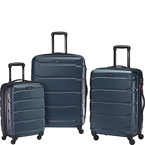 Samsonite Omni PC Hardside 3 Piece Set 20 24 28 Spinner