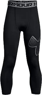 Under Armour Boys' HeatGear Logo ¾ Leggings