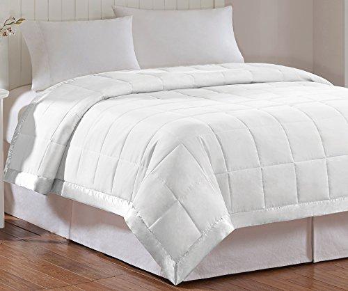 Madison Park Windom Microfiber Down Alternative Stain Resistant Blanket